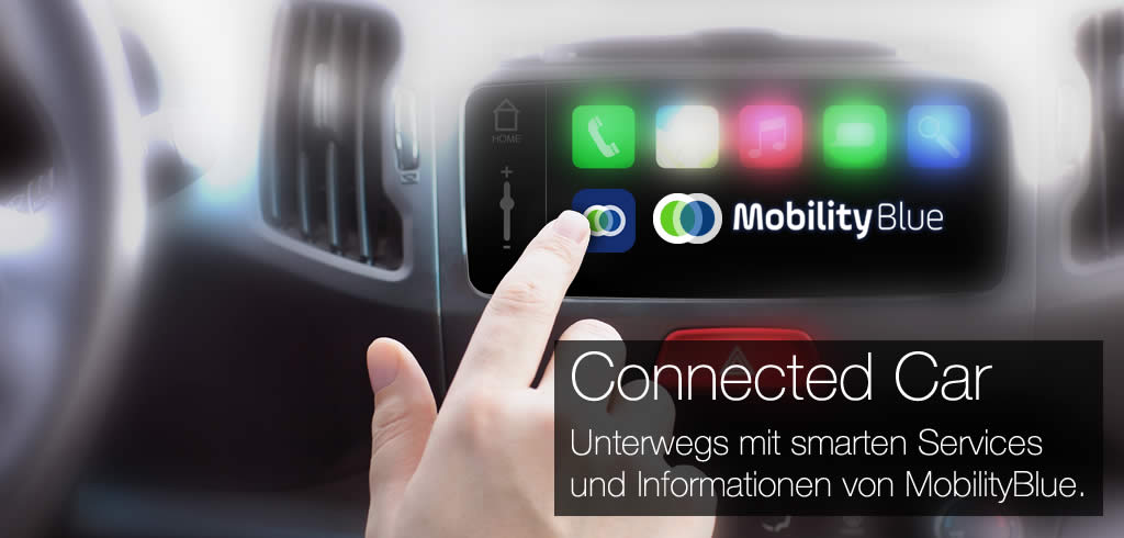 Connected Car und Smart City mit der MobilityBlue App von SiteForce