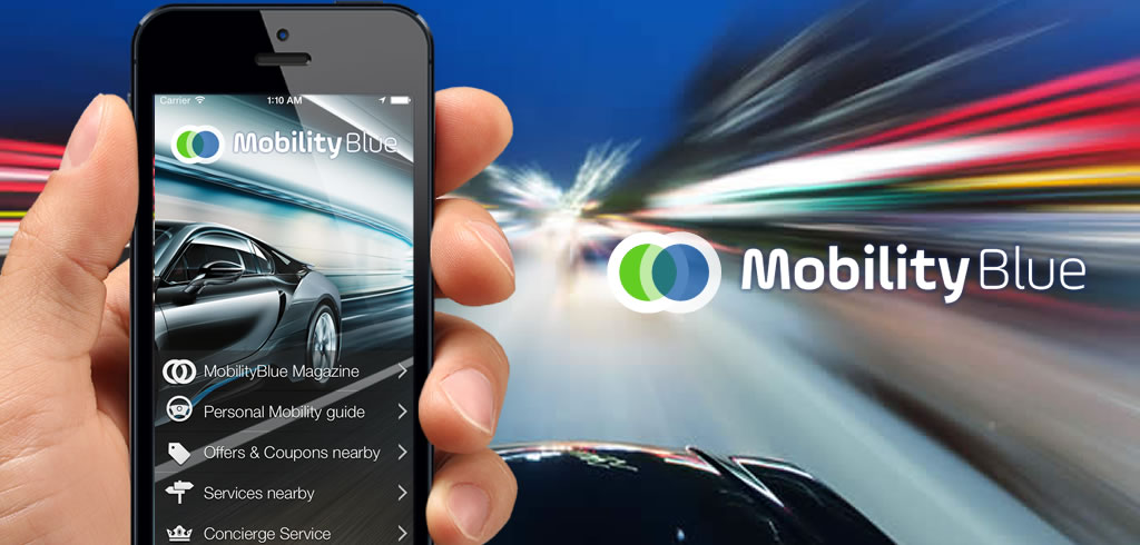 MobilityBlue multimodal personal mobility