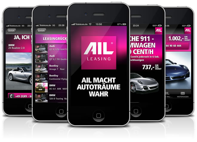 AIL Leasing iPhone App