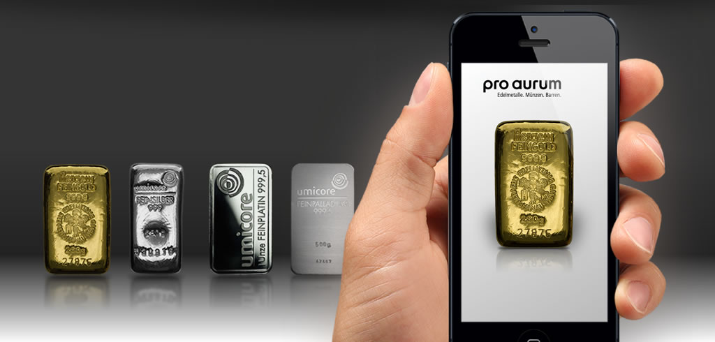 pro aurum GoldFinder iPhone App