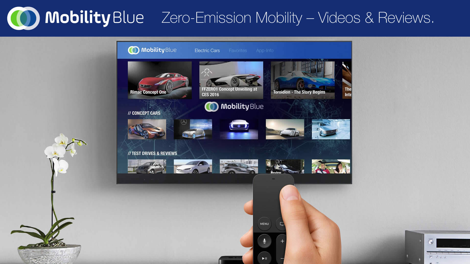 MobilityBlue Apple TV eMobility App